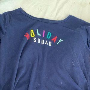 Holiday squad PJ t-shirt
